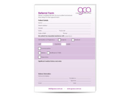 GP Referral Form
