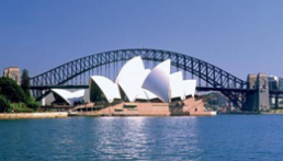 Harbour Bridge and Opera House Sydney